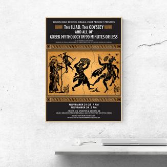 Greek Theater Poster Design