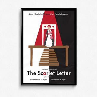 The Scarlett Letter Poster