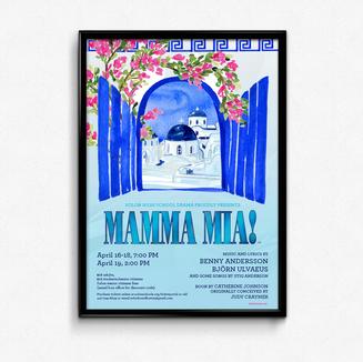 Mamma Mia Poster Design