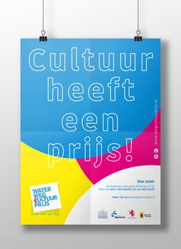 Poster Waterweg Cultuurprijs