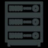 dedicated server rack icon