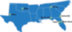 Hull's Locations in Florida, Georgia, Ok