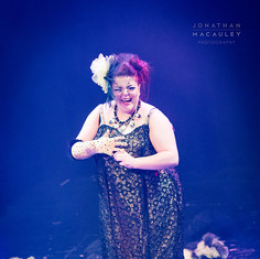 Titsalina Bumsquash performing 'Showgirl'