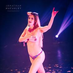 Ruby Deshabille performs 'Retro Showgirl'