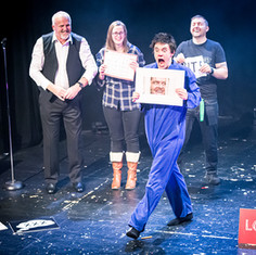 Kiki Lovechild performs 'The Power Ballad Tribute'