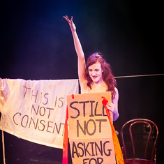 Belle De Beauvoir performs 'Christmas Consent'