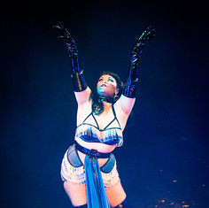 Freida Nipples performs 'Bring out the Gimp'