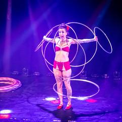 Chi Chi Revolver performs Circus Hoop