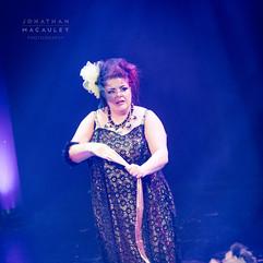 Titsalina Bumsquash performing 'Showgirl'
