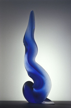 BLUE FLAME 1999 23 x 9 x 6in
