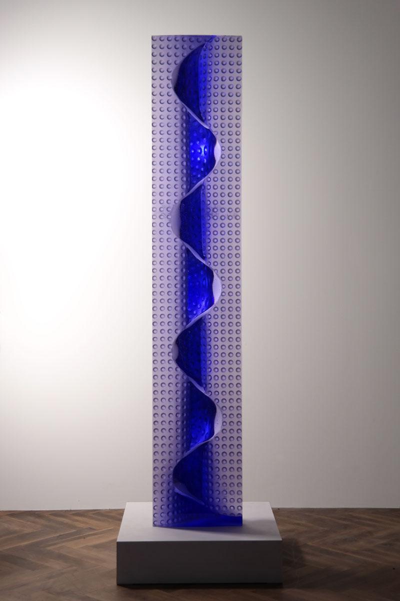 BLUE STVOL  BACK 74 x 14 x 7in