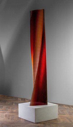 RED TOWER 78 x 14 x 13in