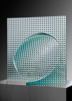 OVAL IN SQUARE 2009 31 x 31 x 9,5in