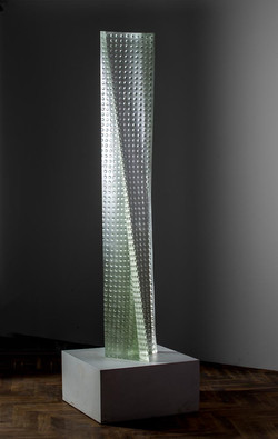 CRYSTAL TOWER 73 x 13 x 11in