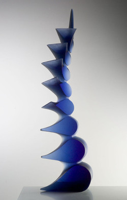 BLUE INTERVALS 2006 69 x 22 x 9in