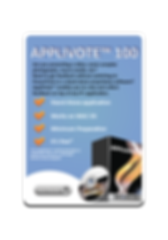 Infowhyse Applivote 100 Software