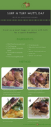 Surf n Turf Muttloaf Recipe Card