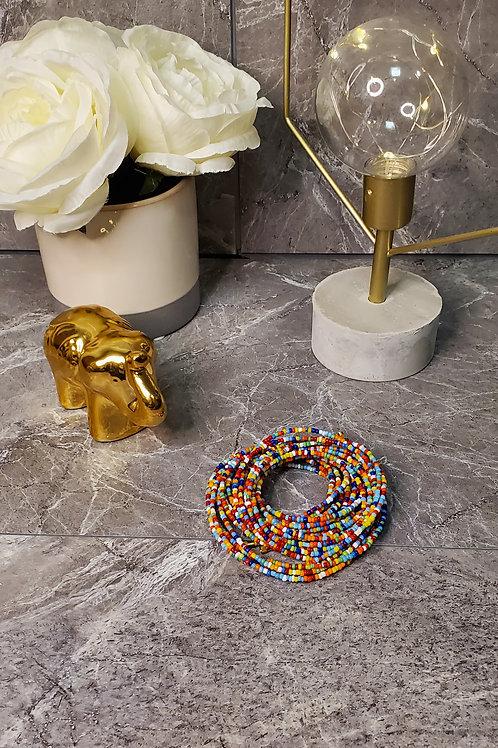 Multi-Color Waist Bead
