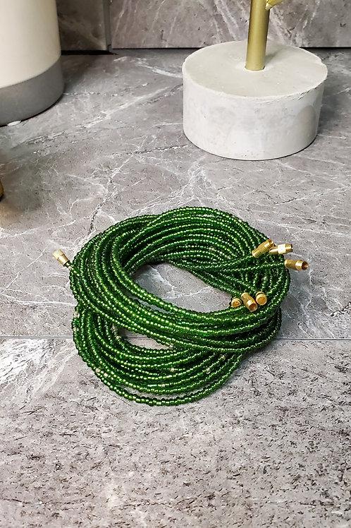 Green Waist Bead