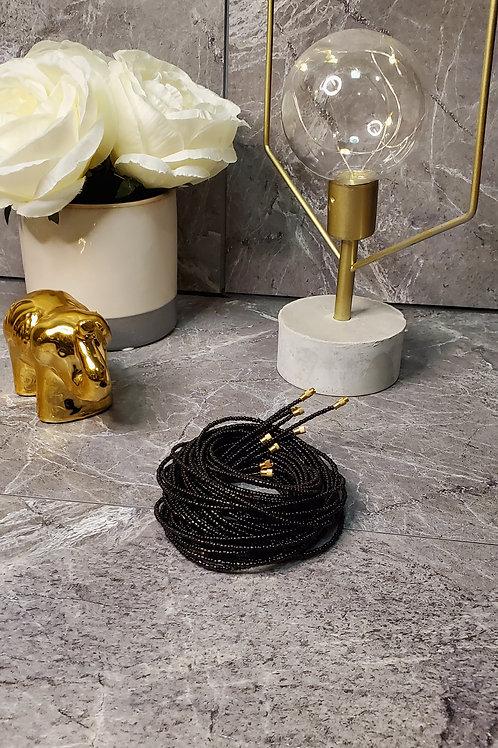 Black Waist Bead