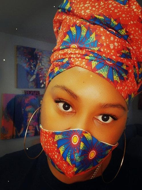 Head Wrap & Mask Sets