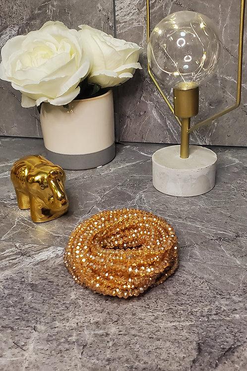 Gold Crystal Waist Bead