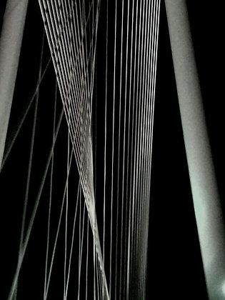 Rabin Art - Metal Print Margaret Hunt Bridge