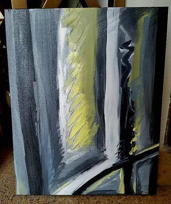 Rabin Art - Original Painting Look To The Light