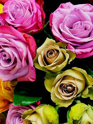 Rabin Art - Metal Print Roses
