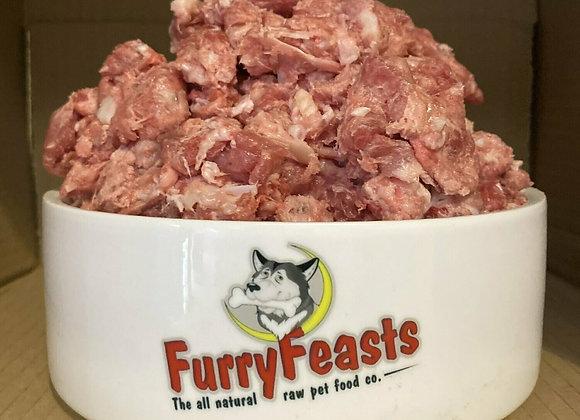 Furry Feasts Standard Turkey Mince - 1kg