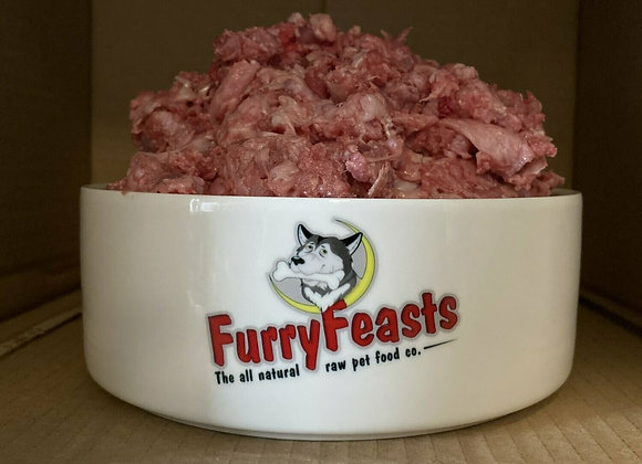 Furry Feasts Standard Free Range Duck Mince - 1kg