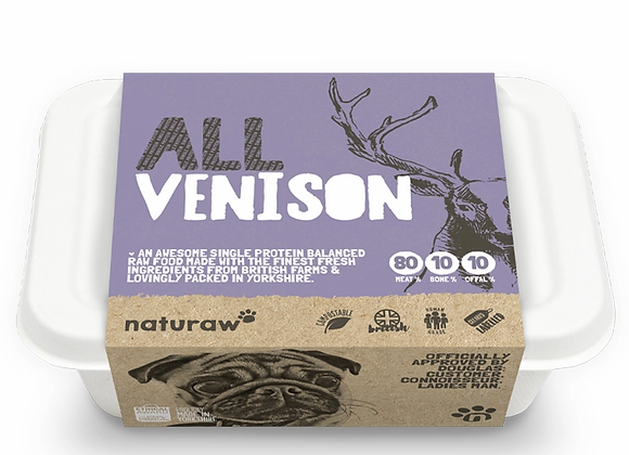 All Venison (500g)