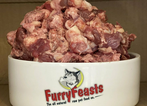 Furry Feasts Complete 80/10/10 Meaty & Chunky - 1kg