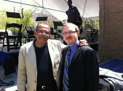 Jazz great, Ernie Watts, and me