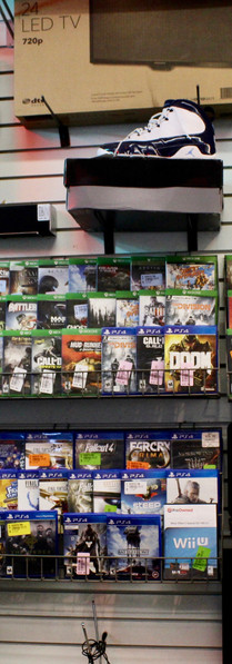 Games for sale at Beaverton