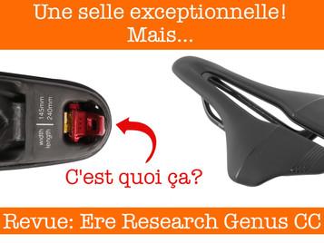 Revue: La selle Ere Research Genus CC