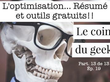 Outils d'optimisation gratuits!
