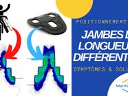 Une différence de longueur de jambes: Symptômes et solutions.