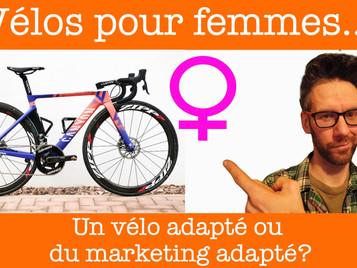 Les vélos pour femmes