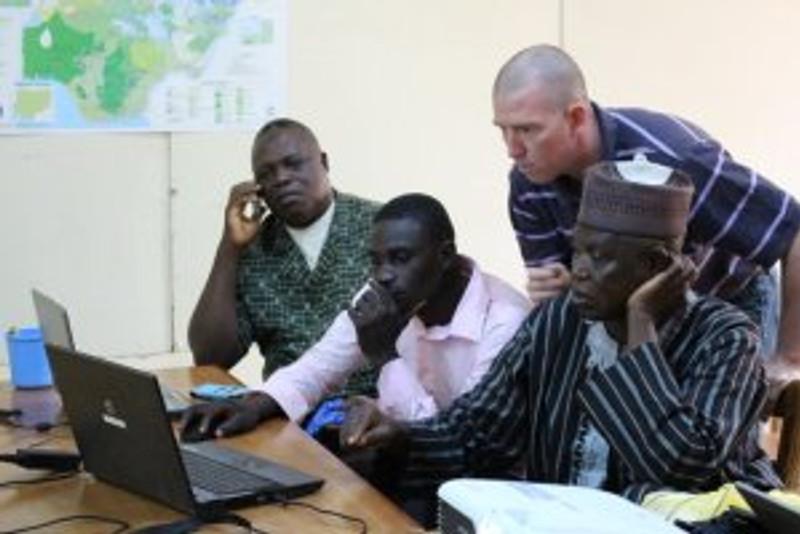 Jonathan and a translation team.