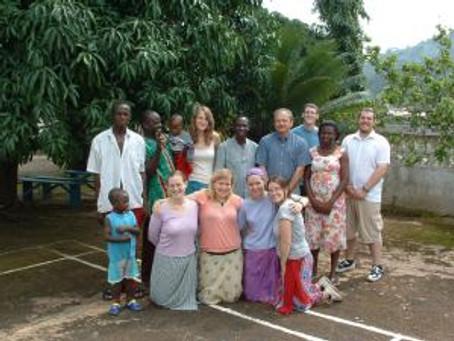 Trip to Ghana in 05