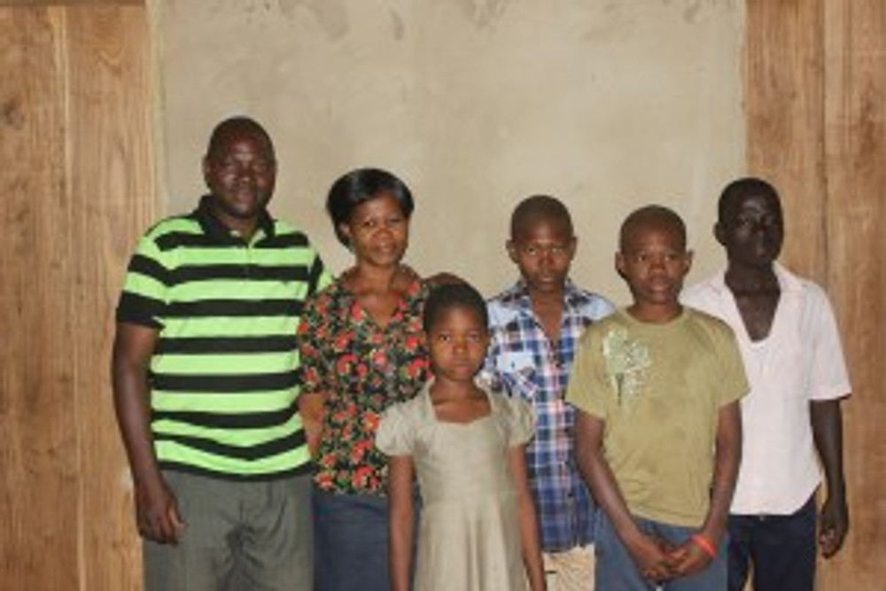 Samuel and his family