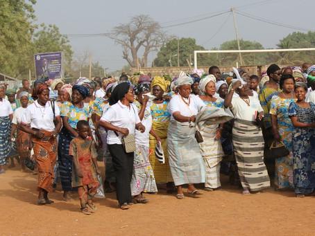 Ncham Bible Dedication, Bassar, Togo.