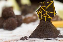 Bolo chocolate amargo