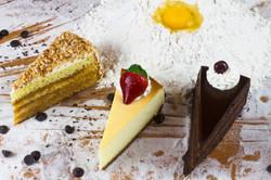 Bolo choc/Cheesecake/Côco