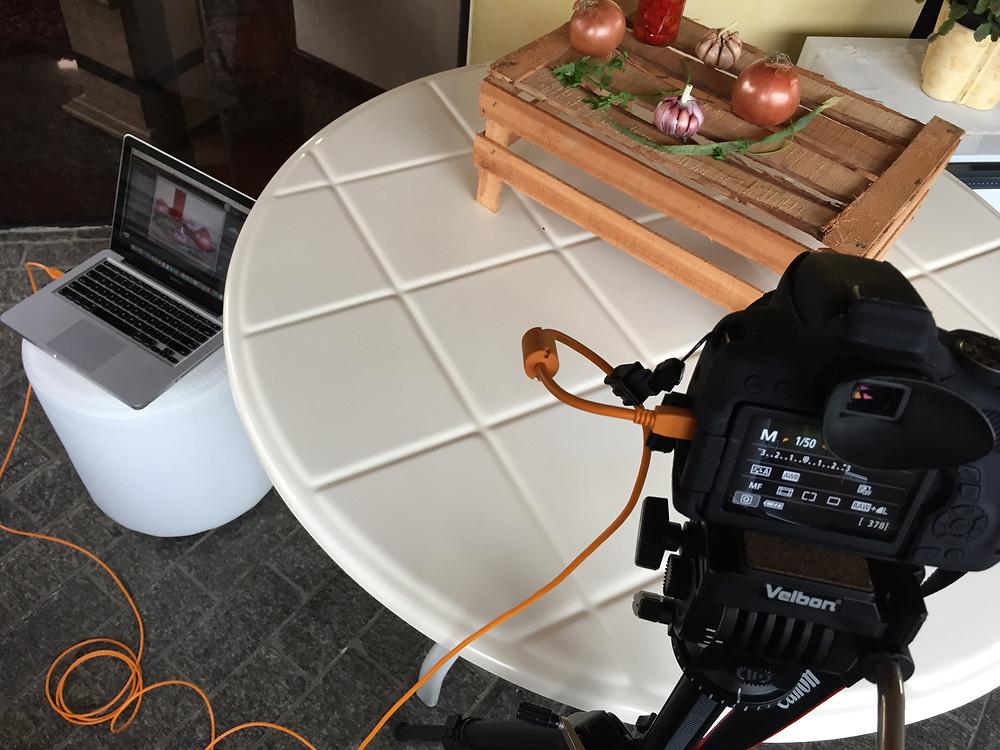 Fotógrafo de Alimentos