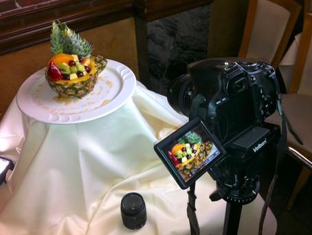 Qual o Melhor Ajuste de Câmera na Fotografia de Alimentos?