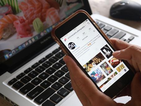 Redes Sociais para Fotografias de Alimentos