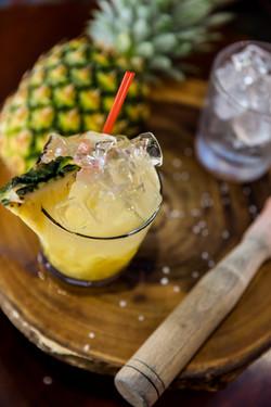 Caipirinha de abacaxi