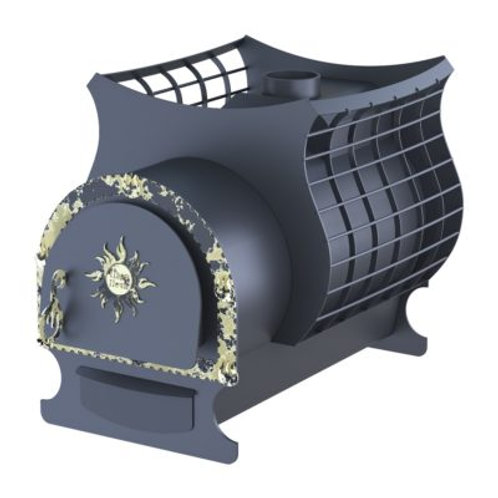 Банная печь-сетка Святогор